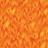 Elegant seamless pattern with abstract fire flames for your design. Eps-8 Stock Images
