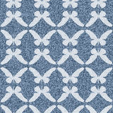 Elegant seamless pattern with butterflies Royalty Free Stock Photography