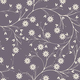 Elegant seamless pattern with chamomile flowers on purple backgr. Ound can be used for linen, tile design fabric, textile and more creative designs Royalty Free Stock Photos
