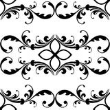 Elegant seamless pattern with classic tracery on a white background. Vintage style. Vector. Illustration Royalty Free Stock Images