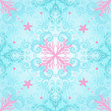 Elegant seamless  pattern with coral Stock Photo