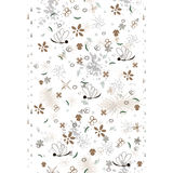 Elegant seamless pattern. With floral vertical border Royalty Free Stock Photos