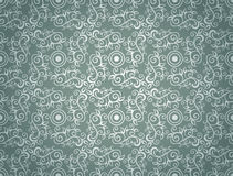 Elegant Seamless Pattern of Floral Vintage CLassic Vines Royalty Free Stock Image