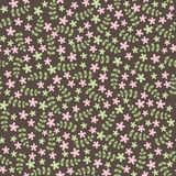 Elegant seamless pattern with flowers Stock Image