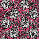 Elegant seamless pattern with flowers Stock Photography