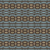 Elegant seamless pattern in folk style Royalty Free Stock Photos