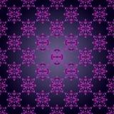 Elegant seamless pattern on gray background Royalty Free Stock Photos