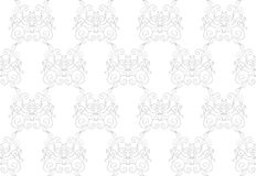 Free Elegant Seamless Pattern Of Floral Vintage CLassic Vines Stock Images - 48234414