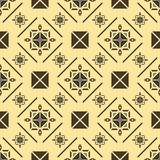 Elegant seamless pattern in royal style Royalty Free Stock Images
