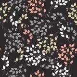 Elegant seamless pattern with stylish bouquet Stock Photos