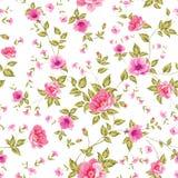 Elegant seamless peony pattern. Stock Image