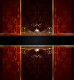 Elegant seamless wallpaper Royalty Free Stock Images