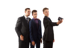 An elegant selfie Stock Image