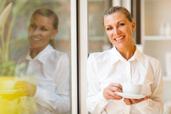 Elegant senior businesswoman Royalty Free Stock Images