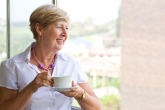Elegant senior woman Royalty Free Stock Photography