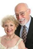 Elegant Seniors Portrait Royalty Free Stock Images
