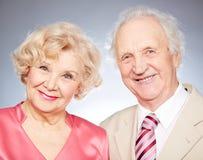 Elegant seniors Royalty Free Stock Photography