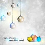 Elegant shiny Christmas background Royalty Free Stock Images