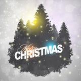 Elegant shiny Christmas background Stock Photo