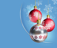 Elegant shiny christmas decoration. Royalty Free Stock Photo