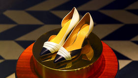 Elegant shoe for ladies Royalty Free Stock Image