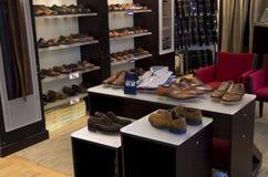 Elegant shoe store Stock Photography