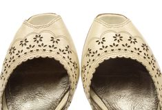 Elegant shoes Stock Images