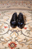 Elegant Shoes at Home Stock Photos