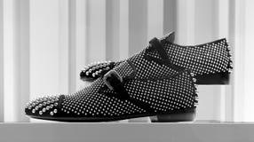 Elegant shoes for men Stock Images
