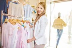 Elegant shopper Royalty Free Stock Image
