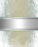 Elegant silver and brown background Stock Photography