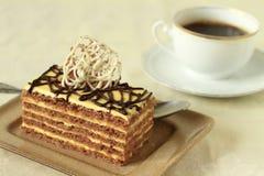 Elegant slice of cake Royalty Free Stock Photo