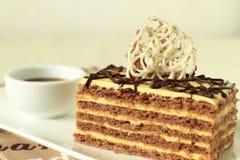 Elegant slice of cake Stock Photo