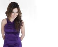 Elegant smiling woman Stock Images