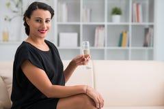 Elegant smiling woman Royalty Free Stock Image