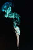 Elegant smoke curly lines Stock Images
