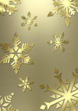 Elegant snowflake background stock photo