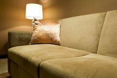 Elegant sofa arkivfoto