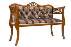 elegant soffa Arkivfoton