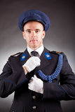 Elegant soldier Royalty Free Stock Photography