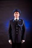 Elegant soldier wearing uniform Stock Photography