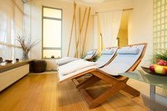 Elegant spa in hotel Stock Photos