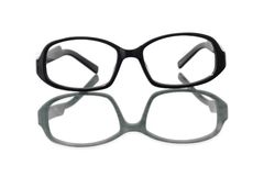 Elegant spectacles Royalty Free Stock Photo