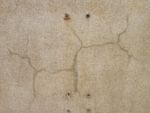 Elegant split crack in   stone surface Royalty Free Stock Photo