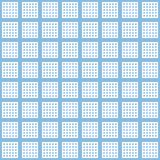 elegant square pastel blue star and dots design for pattern and Stock Photo