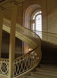 Elegant Staircase. Dramatic staircase in a historic building -- Hartford, CT Royalty Free Stock Photos
