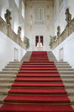 Elegant staircase in luxurious building Royalty Free Stock Photo