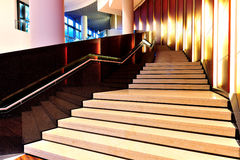 Elegant stairs. Made in marble royalty free stock photo