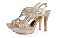 Elegant stiletto shoes Royalty Free Stock Photos