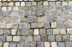 Elegant stone wall. From small square parts Royalty Free Stock Image